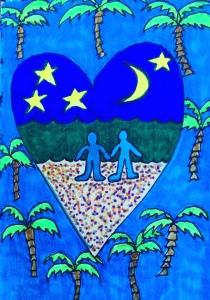 Heart-a-Day #10: Moonlight
